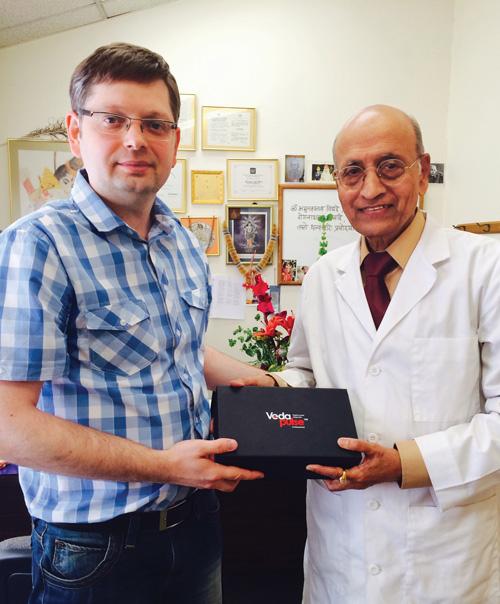 Dr. Vasant Lad and Oleg Sorokin